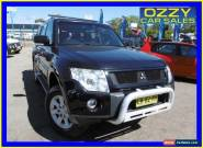 2007 Mitsubishi Pajero NS Exceed LWB (4x4) Black Automatic 5sp A Wagon for Sale