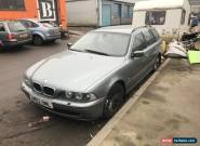 2002 BMW 530d E39 auto spare or repair for Sale