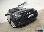 2002 Renault Clio X65 Phase 2 Sport Black Manual M Hatchback for Sale