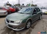 2005 Subaru Impreza MY05 RV (AWD) Green Manual 5sp M Hatchback for Sale