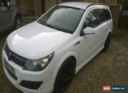 2005 VAUXHALL ASTRA CLUB CDTI 90 ESTATE WHITE LOADS OF EXTRAS for Sale
