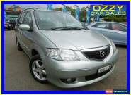 2002 Mazda MPV LW Silver Automatic 4sp A Wagon for Sale