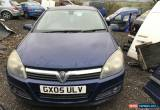 Classic 2005 VAUXHALL ASTRA 1.6 SPARES OR REPAIR CAM BELT SNAPPED  for Sale