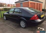 2001 FORD MONDEO ZETEC SILVER 2.0 petrol for Sale