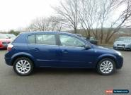 2005 VAUXHALL ASTRA DESIGN AUTO BLUE for Sale