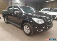 2015 Holden Colorado LTZ 4x4 auto  turbo diesel  24km ideal export side damaged for Sale