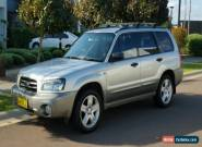 Subaru Forester XS 2.5 litre 04 for Sale