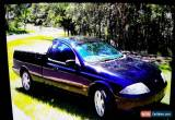 Classic Ford AU Falcon Ute for Sale