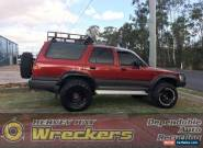 Toyota 4Runner manual 4wd red wagon for Sale