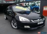 2006 Honda Accord 40 V6 Luxury Black Automatic 5sp A Sedan for Sale