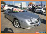 2002 Alfa Romeo Spider Twin Spark Manual 5sp M Convertible for Sale