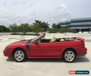 Classic 1996 Ford Mustang GT Convertible 2-Door for Sale
