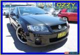 Classic 2011 Holden Commodore VE II SS-V Black Automatic 6sp A Utility for Sale