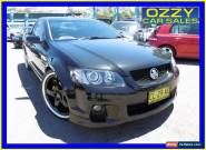 2011 Holden Commodore VE II SS-V Black Automatic 6sp A Utility for Sale
