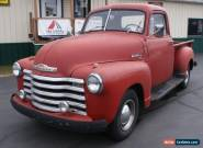 1950 Chevrolet Other Pickups 3100 for Sale