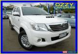 Classic 2013 Toyota Hilux KUN26R MY14 SR5 (4x4) White Automatic 5sp A Dual Cab Pick-up for Sale