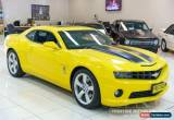 Classic 2009 Chevrolet Camaro TRANSFORMER EDITION SS Yellow Manual M Coupe for Sale