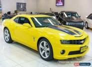 2009 Chevrolet Camaro TRANSFORMER EDITION SS Yellow Manual M Coupe for Sale