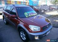 2002 Toyota RAV4 ACA21R Cruiser (4x4) Maroon Automatic 4sp A Wagon for Sale