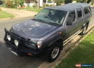 1999 Nissan Navara D22 DX 3.2 DIESEL 4X4 bullbar canopy CHEAP  as traded in sale for Sale