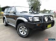 2001 Nissan Patrol GU III TI (4x4) Blue Automatic 5sp A Wagon for Sale
