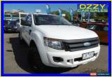 Classic 2012 Ford Ranger PX XL 3.2 (4x4) Cool White Manual 6sp M Super Cab Chassis for Sale