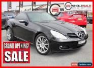 2006 Mercedes-Benz SLK280 171454 Black Automatic A Convertible for Sale