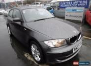 2007 BMW 1 Series 2.0 118D SE 3d 141 BHP for Sale