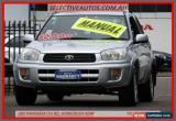 Classic 2003 Toyota RAV4 ACA20R Cruiser (4x4) Silver Manual 5sp M Wagon for Sale