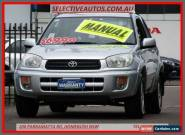 2003 Toyota RAV4 ACA20R Cruiser (4x4) Silver Manual 5sp M Wagon for Sale