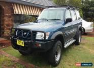 2000 Nissan Patrol GU ST 3.0 litre turbo diesel 5 speed for Sale