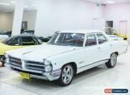 1966 Pontiac Parisienne White Automatic 2sp A Sedan for Sale