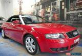 Classic 2003 Audi A4 B6 Multitronic Red Automatic 1sp A Cabriolet for Sale