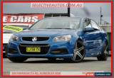 Classic 2014 Holden Commodore VF SV6 Blue Automatic 6sp A Sedan for Sale