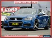 2014 Holden Commodore VF SV6 Blue Automatic 6sp A Sedan for Sale