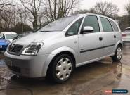 2004 VAUXHALL MERIVA ENJOY 1.7 CDTI SILVER NO RESERVE  for Sale