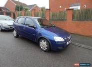 VAUXHALL CORSA LIFE 2006 1.0 TWINPORT BLUE for Sale