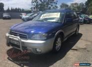 2002 Subaru Outback MY03 2.5I Blue Automatic A Wagon for Sale