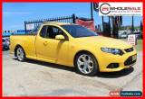 Classic 2012 Ford Falcon MKII XR6 SUPER CAB EXTENDED CAB 4.0L 6 CYL Yellow Automatic A for Sale