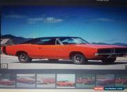 DODGE CHARGER 69 rt track pack . Rolling shell for Sale