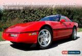 Classic 1990 Chevrolet Corvette Base Hatchback 2-Door for Sale