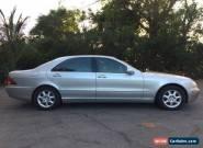 2001 Mercedes-Benz S-Class Base Sedan 4-Door for Sale