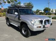 1998 Toyota Landcruiser 100 GXL Manual Diesel Silver Manual 5sp M Wagon for Sale