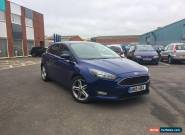 2015 FORD FOCUS ZETEC TDCI - BLUE - LOW MILEAGE - L@@K for Sale