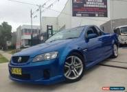 2008 Holden Commodore VE SV6 Blue Automatic 5sp A Utility for Sale