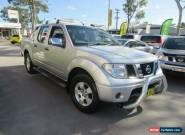 2007 Nissan Navara D40 ST-X Silver Automatic 5sp A 4D UTILITY for Sale