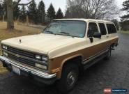 1991 Chevrolet Suburban Silverado Sport Utility 4-Door for Sale