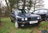 Classic BMW E30 316i 4 Door Manual for Sale