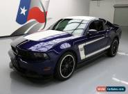 2012 Ford Mustang Boss 302 Coupe 2-Door for Sale