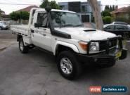 2012 Toyota Landcruiser VDJ79R MY12 Update GXL (4x4) White Manual 5sp M for Sale